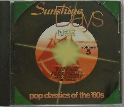 SUNSHINE DAYS - CD - Pop Classics Of The '60s - Volume 5 - BRAND NEW