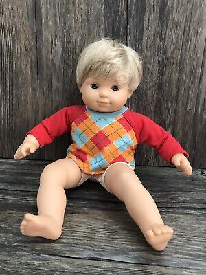 """American Girl Bitty Baby Boy 16"""" Doll Only One Doll From A Set Of Two 23D"""