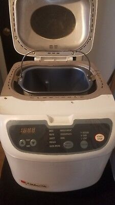 Regal White Kitchen Pro Bread Maker Machine Non Stick Timer
