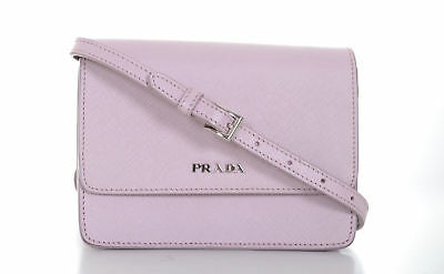 a091a3d5a92404 PRADA SAFFIANO LEATHER Shoulder Bag Pink/Mauve Antico Mordore Gold ...