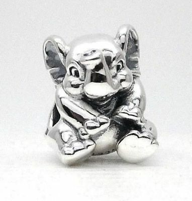 AUTHENTIC Pandora Genuine ALE 925 Silver Lucky Elephant Charm 791902