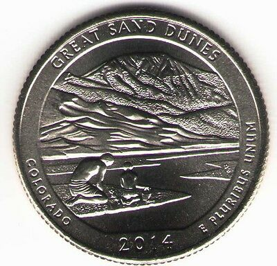 US. 2014-D. Great Sand Dunes National Park, CO. (March 17, 1932). Uncirculated.