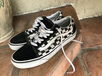 ColorSize Women's Vans Skate Brown Men's 6 Shoes Checkerboard Ibyvmfg76Y