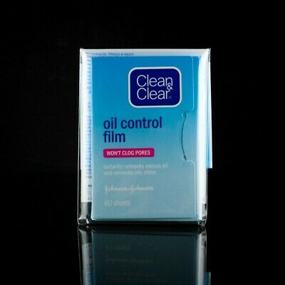 UK seller CLEAN AND CLEAR Oil Control Blotting Paper Film 60 silky wipes Johnson