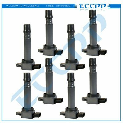 Ignition Coil Pack of 8 For 2007 2008 2009 2010 Volvo S80 XC90 4.4L New UF574