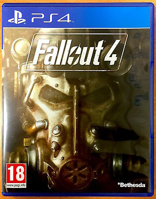 Fallout 4 - Playstation PS4 Games - Very Good Condition - Four