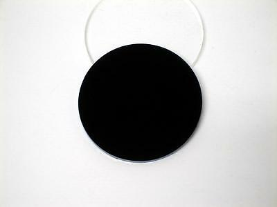 Acrylic Perspex Disk Circle Black 3mm Thick 20mm to 100mm Diameter
