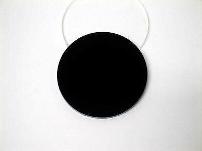 Acrylic Perspex Disk Circle Black 3mm Thick 120mm to 500mm Diameter