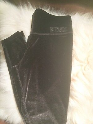 f4f9e14bf4963 VICTORIAS SECRET SPORT Black Leggings Medium New With Tags - $19.99 ...