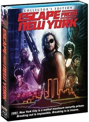 Escape From New York - 2 DISC SET (2015, Blu-ray New)