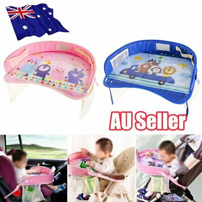 Kids Toddler Safety Car Seat Travel Snack Play Table Tray Drawing Board  !R