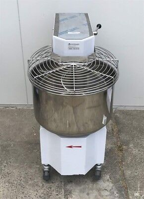 GAM Ikaro 40 spiral mixer 41 litres with liftable head and removable Bowl