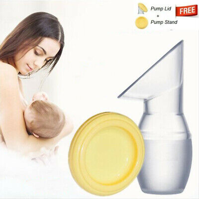 Haakaa Silicone Breastfeeding Manual Breast Milk Pump Baby Feeding BPA