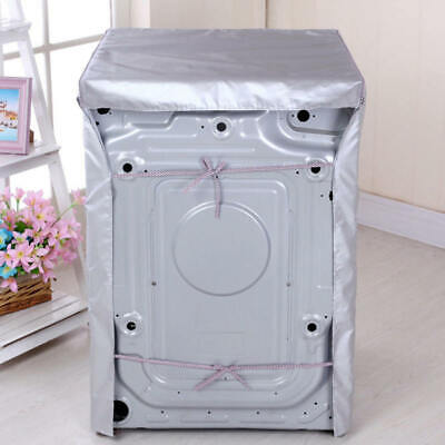 PE Waterproof Washing Machine Cover Dustproof Cover Protections Front Cover NEW
