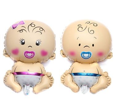 Baby Shower Balloons New Born Baby Gir Boy Pink Blue Theme Baloons Balon