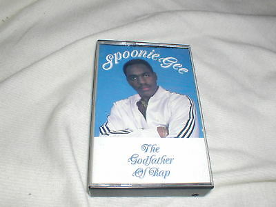 SPOONIE GEE THE Godfather of Rap (1987) CASSETTE TAPE Old School Hip