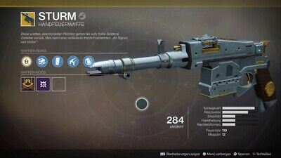 Destiny 2 Shadowkeep Sturm Full Quest Recovery PS4/PC