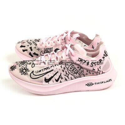 04636aa935372 Nike Zoom Fly SP Fast White Black-Pink Foam Nathan Bell Running AT5242-