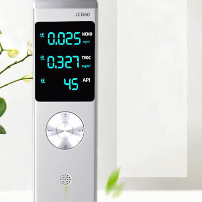 Formaldehyde Detector PM2.5 HCHO TVOC Air Quality Pollution Monitor 175*55*25mm