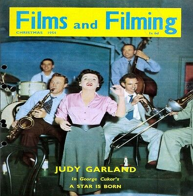 Film and Filming Magazine 1954-1959 PDF Format on DVD Disc
