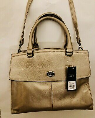 a428a1792 NEW TIGNANELLO The Only One Womens Satchel Color Soft Gold - $69.99 ...