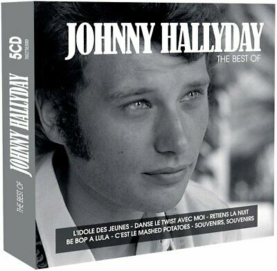 Johnny Hallyday The Best of années 60 Coffret 5 CD Neuf sous cellophane