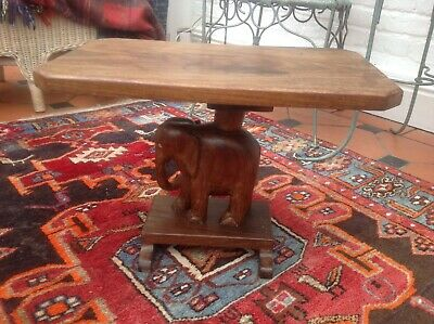Nigerian Ashanti Elephant Stool/Table