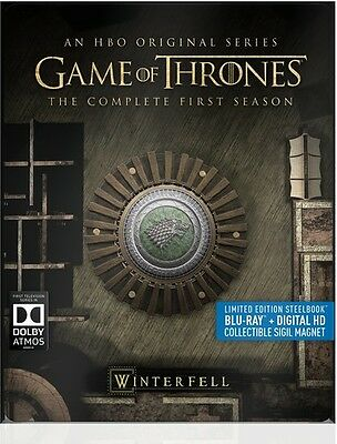 Game Of Thrones: The Complete First Season - 5 DISC SET (2015, Blu-ray New)