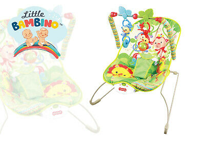 Baby Rocker Bouncer Reclining Vibrating Chair Soothing Music Vibrating Toys