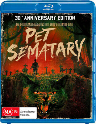 PREORDER - Pet Sematary (30th Anniversary Edition)  - BLU-RAY - NEW Region B