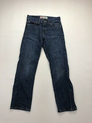 LEVI'S 514 Slim Straight Jeans - W27 L27 - Navy - Great Condition - Boy's
