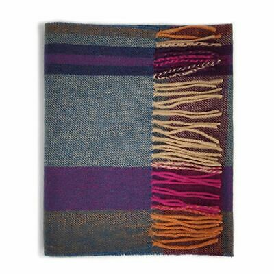 Kiltane of Scotland 5% Cashmere 95% Lambswool Multicolour Scottish Tartan Scarf