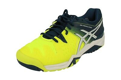 e96281555a5b1 ASICS GEL-RESOLUTION 6 Mens Running Trainers E500Y Sneakers Shoes ...