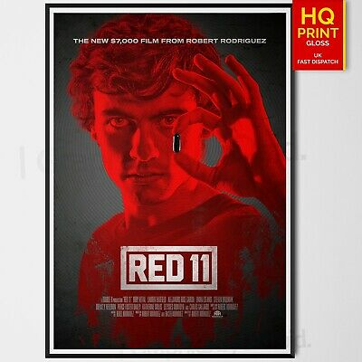 Red 11 Movie 2019 Horror/Sci-Fi/Thriller Katherine Willis Poster | A4 A3 A2 A1