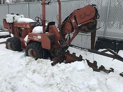 ditch witch trencher Plow Combo