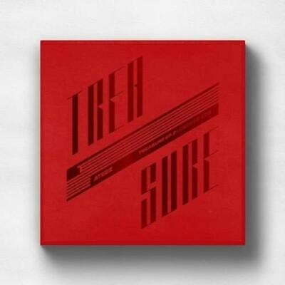 Ateez-Treasure Ep 2: Zero To One (Booklet/sticer/post Card/photocard) Cd New