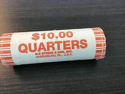 Delaware State Quarter - 1999 - P - Uncirculated Roll of 40 Quarters