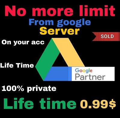 🔥Best sale🔥2+1 UNLIMITED GOOGLE DRIVE FOREVER NO MORE LIMIT ON YOUR ACC 2+1