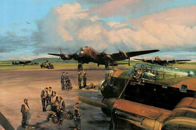 Band Of Brothers by Robert Taylor Bomber Command Edition Lancaster 10 signers