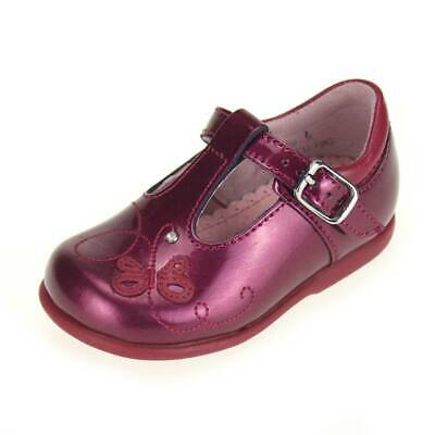 Start-rite Pixie Berry Girls Berry Patent Shoe size uk kids children leather