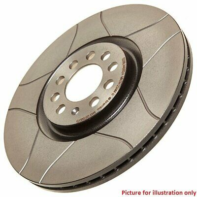 Front Performance High Carbon Grooved Brake Disc (Pair) 09.5870.75 - Brembo Max