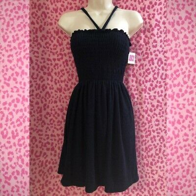 cbd44c9a26539 JUICY COUTURE REGAL MicroTerry Smocked DRESS size S ~ nwt $118 ...