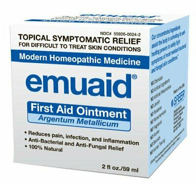 Emuaid First Aid Ointment Argentum Metallicum 2 oz/59 ml