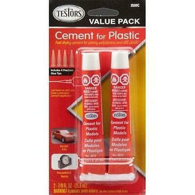 Testor Corp. 3509C Cement For Plastic, Value Pack