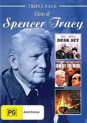 Spencer Tracy (DVD, 2016, 3-Disc Set) TRIPLE PACK SET NEW AND SEALED R4 DVD