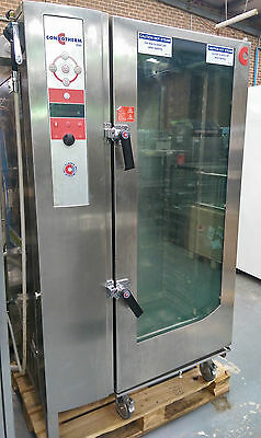 Used CONVOTHERM 20 Tray Combi Oven with Roll-in 20 Tray Rack OSC 20.10
