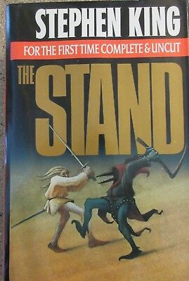 The Stand by Stephen King ( Complete & Uncut ) 1990 HC / DJ