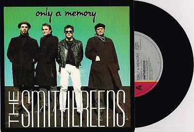 "THE SMITHEREENS - ONLY A MEMORY - RARE 7"" 45 SAMPLE VINYL RECORD w PICT SLV 1988"