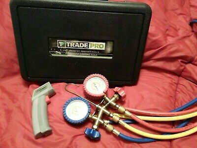 Hvac Charging Kit Trade Pro Refrigerant Charging Scale , Just Better Manifold Ga