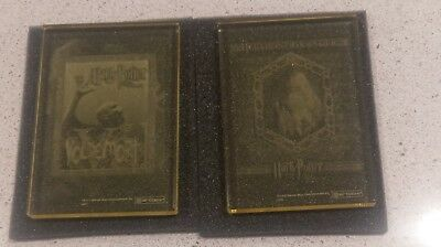 HARRY POTTER Yellow Crystal Case Card Topper Voldemort RARE + Hermione Granger